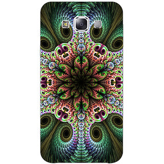 1 Crazy Designer Paisley Beautiful Peacock Back Cover Case For Samsung Galaxy E7 C421597