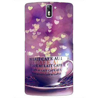 1 Crazy Designer Coffee Back Cover Case For OnePlus One C411295