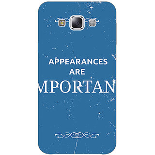 1 Crazy Designer SUITS Quotes Back Cover Case For Samsung Galaxy A7 C430480