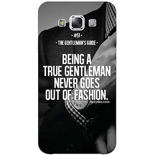1 Crazy Designer SUITS Quotes Back Cover Case For Samsung Galaxy A7 C430488