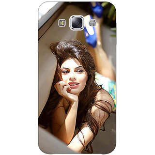 1 Crazy Designer Bollywood Superstar Jacqueline Fernandez Back Cover Case For Samsung Galaxy A7 C430996