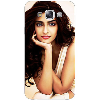 1 Crazy Designer Bollywood Superstar Sonam Kapoor Back Cover Case For Samsung Galaxy A7 C431016
