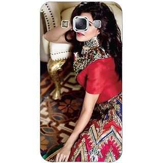 1 Crazy Designer Bollywood Superstar Jacqueline Fernandez Back Cover Case For Samsung Galaxy A7 C431051