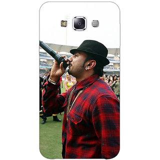 1 Crazy Designer Bollywood Superstar Honey Singh Back Cover Case For Samsung Galaxy E7 C421178