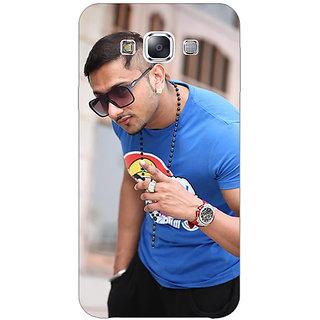 1 Crazy Designer Bollywood Superstar Honey Singh Back Cover Case For Samsung Galaxy E7 C421179
