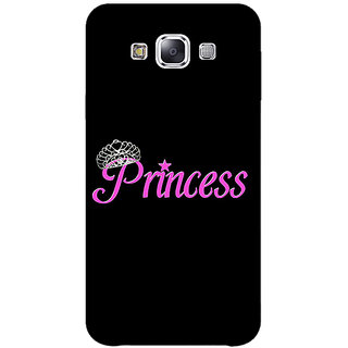 1 Crazy Designer Princess Back Cover Case For Samsung Galaxy E7 C421398