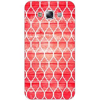 1 Crazy Designer Morocco Pattern Back Cover Case For Samsung Galaxy E7 C421411