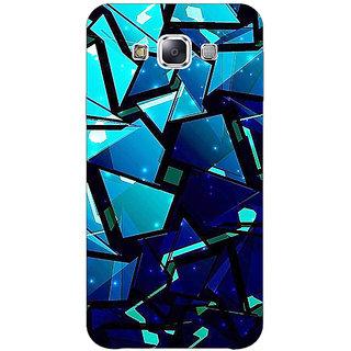 1 Crazy Designer Crystal Prism Back Cover Case For Samsung Galaxy E7 C421412