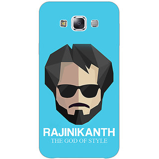 1 Crazy Designer Rajni Rajanikant Back Cover Case For Samsung Galaxy E7 C421483