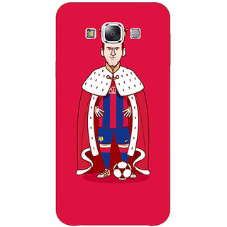 1 Crazy Designer Barcelona Messi Back Cover Case For Samsung Galaxy E5 C440536