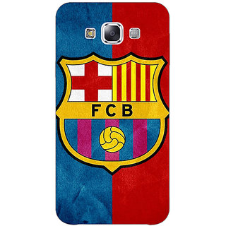 1 Crazy Designer Barcelona Back Cover Case For Samsung Galaxy E5 C440537
