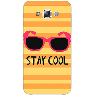 1 Crazy Designer Quotes Stay Cool Back Cover Case For Samsung Galaxy A7 C431149