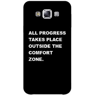 1 Crazy Designer Quote Back Cover Case For Samsung Galaxy A7 C431475
