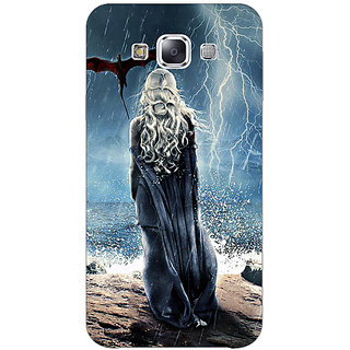 1 Crazy Designer Game Of Thrones GOT House Targaryen  Back Cover Case For Samsung Galaxy E5 C440147