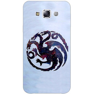 1 Crazy Designer Game Of Thrones GOT House Targaryen  Back Cover Case For Samsung Galaxy E5 C440152