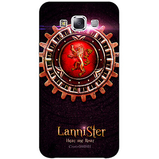 1 Crazy Designer Game Of Thrones GOT House Lannister  Back Cover Case For Samsung Galaxy E5 C440154