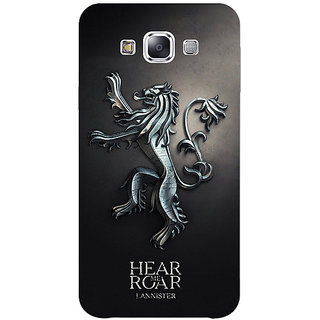 1 Crazy Designer Game Of Thrones GOT House Lannister  Back Cover Case For Samsung Galaxy E5 C440165