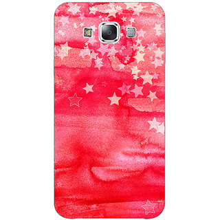 1 Crazy Designer Star Afternoon Pattern Back Cover Case For Samsung Galaxy E5 C440220