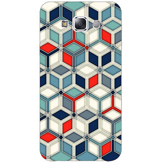 1 Crazy Designer Wild Hexagon Pattern Back Cover Case For Samsung Galaxy A7 C430282