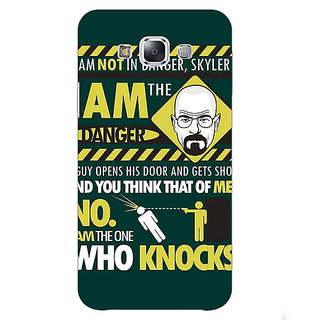 1 Crazy Designer Breaking Bad Heisenberg Back Cover Case For Samsung Galaxy E5 C440420
