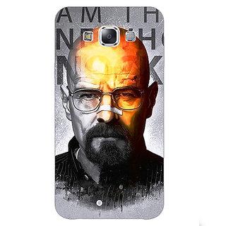 1 Crazy Designer Breaking Bad Heisenberg Back Cover Case For Samsung Galaxy E5 C440429