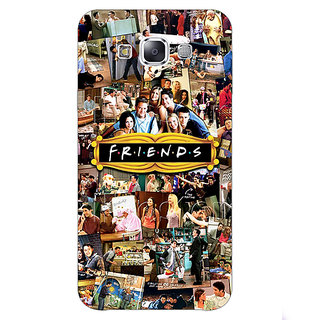 1 Crazy Designer FRIENDS Back Cover Case For Samsung Galaxy E5 C440443