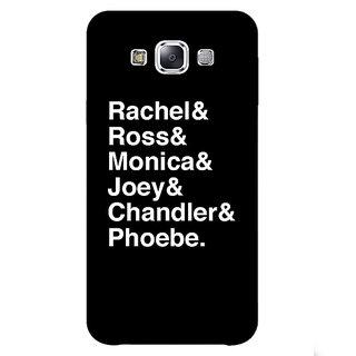1 Crazy Designer FRIENDS Back Cover Case For Samsung Galaxy E5 C440446