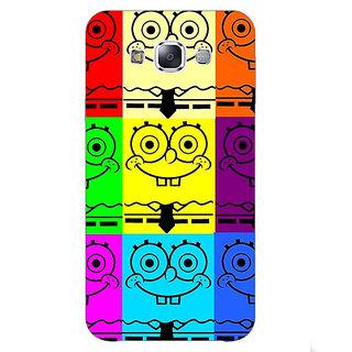 1 Crazy Designer Spongebob Back Cover Case For Samsung Galaxy E5 C440462