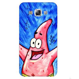 1 Crazy Designer Spongebob Patrick Back Cover Case For Samsung Galaxy E5 C440463