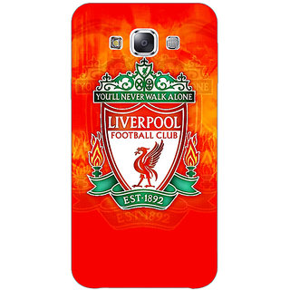 1 Crazy Designer Liverpool Back Cover Case For Samsung Galaxy E5 C440547