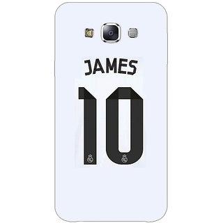 1 Crazy Designer Real Madrid James Rodriguez Back Cover Case For Samsung Galaxy E5 C440592