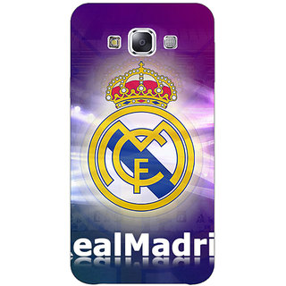1 Crazy Designer Real Madrid Back Cover Case For Samsung Galaxy E5 C440595