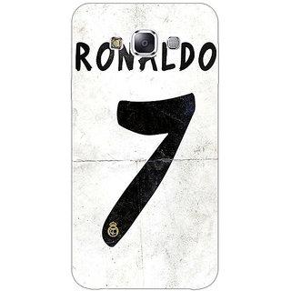 1 Crazy Designer Real Madrid Ronaldo Back Cover Case For Samsung Galaxy E5 C440598