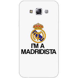 1 Crazy Designer Real Madrid Back Cover Case For Samsung Galaxy E5 C440599