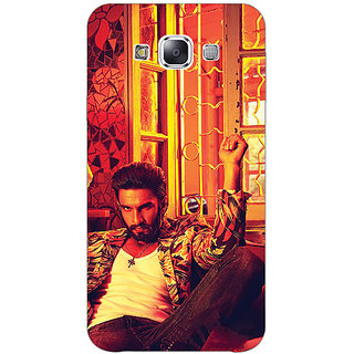 1 Crazy Designer Bollywood Superstar Ranveer Singh Back Cover Case For Samsung Galaxy E5 C440905