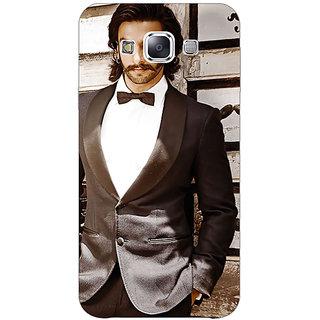 1 Crazy Designer Bollywood Superstar Ranveer Singh Back Cover Case For Samsung Galaxy E5 C440909