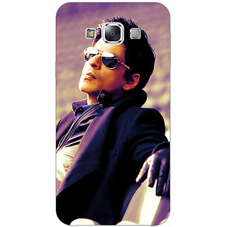 1 Crazy Designer Bollywood Superstar Shahrukh Khan Back Cover Case For Samsung Galaxy E5 C440910