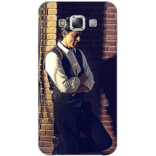 1 Crazy Designer Bollywood Superstar Shahrukh Khan Back Cover Case For Samsung Galaxy E5 C440916