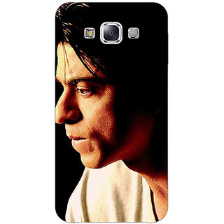 1 Crazy Designer Bollywood Superstar Shahrukh Khan Back Cover Case For Samsung Galaxy E5 C440917