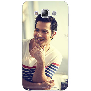 1 Crazy Designer Bollywood Superstar Varun Dhawan Back Cover Case For Samsung Galaxy E5 C440930