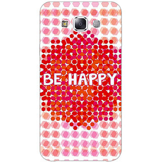 1 Crazy Designer Quotes Happy Back Cover Case For Samsung Galaxy E5 C441154