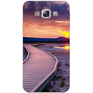 1 Crazy Designer Path To Heaven Back Cover Case For Samsung Galaxy E5 C441156