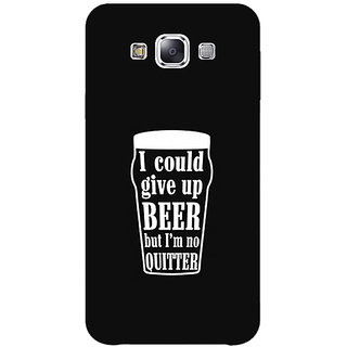 1 Crazy Designer Beer Quote Back Cover Case For Samsung Galaxy A7 C431254
