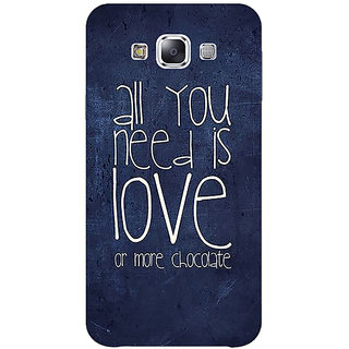 1 Crazy Designer Love Quote Back Cover Case For Samsung Galaxy A7 C431328