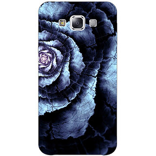 1 Crazy Designer Abstract Flower Pattern Back Cover Case For Samsung Galaxy A7 C431506