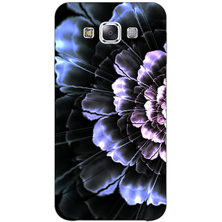 1 Crazy Designer Abstract Flower Pattern Back Cover Case For Samsung Galaxy A7 C431512