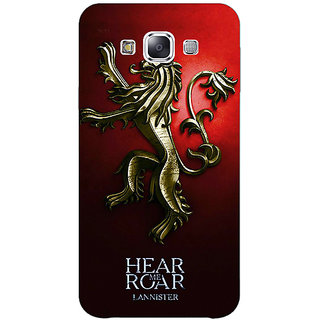 1 Crazy Designer Game Of Thrones GOT House Lannister Back Cover Case For Samsung Galaxy A7 C431553
