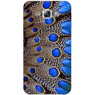1 Crazy Designer Paisley Beautiful Peacock Back Cover Case For Samsung Galaxy A7 C431577