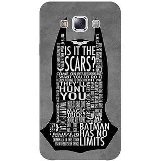 1 Crazy Designer Superheroes Batman Dark knight Back Cover Case For Samsung Galaxy E5 C440001