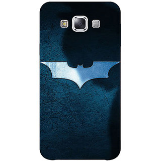 1 Crazy Designer Superheroes Batman Dark knight Back Cover Case For Samsung Galaxy E5 C440003